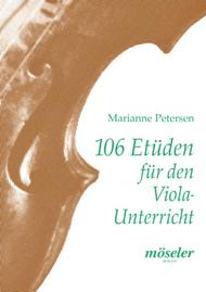 Marianne Petersen  Sheet Music 106 etudes for the viola lessons Song Lyrics Guitar Tabs Piano Music Notes Songbook