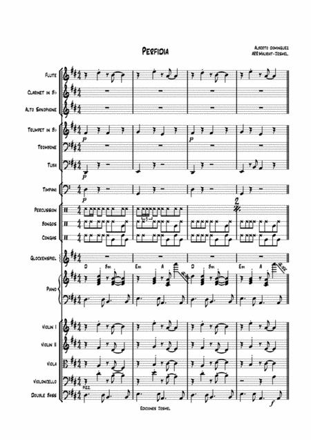 Alberto Dominguez Alberto Dominguez sheet music to download and ...