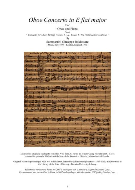 Giuseppe soprano recorder 2 Sonatas Sammartini and bas flute, violin, oboe