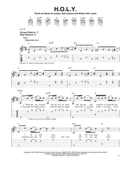 Florida Georgia Line Sheet Music To Download And Print World