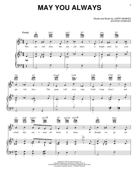 The Mcguire Sisters Sheet Music To Download And Print World Center