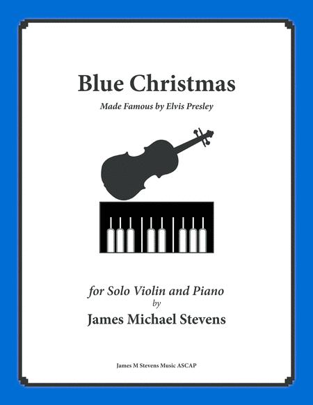 blue christmas by elvis presley violin piano - Blue Christmas Elvis Presley Lyrics