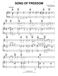 Song Of Freedom sheet music