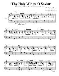 """Thy Holy Wings, O Savior sheet music"