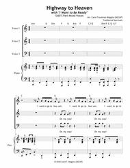 """Highway to Heaven"" with ""I Want to Be Ready"" sheet music"