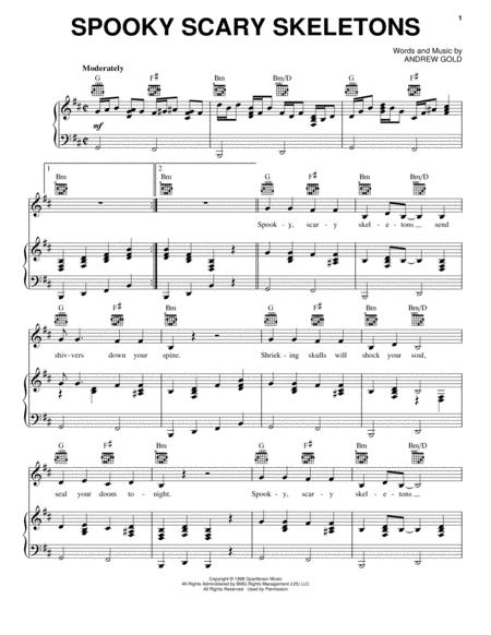 Andrew Gold sheet music to download and print - World center of ...
