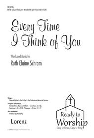 Every Time I Think of You sheet music