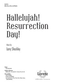 Hallelujah! Resurrection Day! sheet music