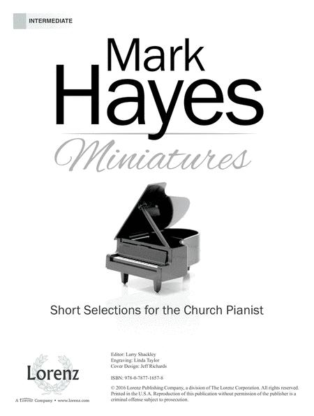 Mark-Hayes sheet music to download and print - World center
