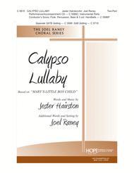 "Calypso Lullaby Based on ""Mary's Little Boy Child"" sheet music"