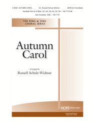 Autumn Carol sheet music