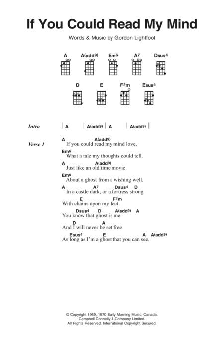 Gordon Lightfoot sheet music to download and print - World center of ...