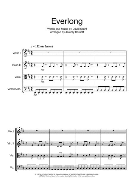 Foo Fighters Sheet Music To Download And Print World Center Of