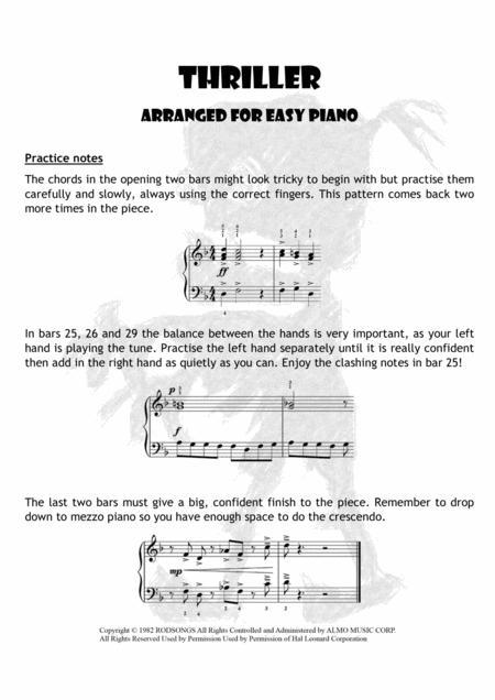 Contemporary Thriller Piano Chords Illustration - Beginner Guitar ...