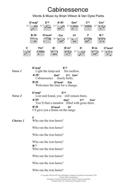 Download Digital Sheet Music Of Beach Boys 2020 For Lyrics And Chords