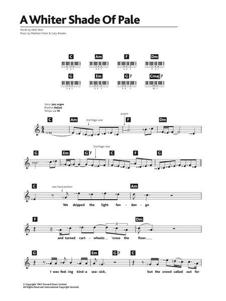 Procol Harum - Partitions musicales à imprimer - Mondial de la ...