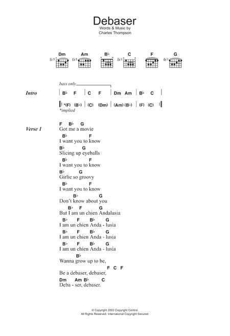 The Pixies - Partitions musicales à imprimer - Mondial de la ...