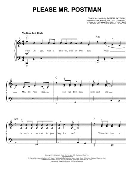 The Carpenters And The Marvelettes Sheet Music To Download And Print