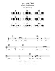 'Til Tomorrow (from Fiorello!) sheet music