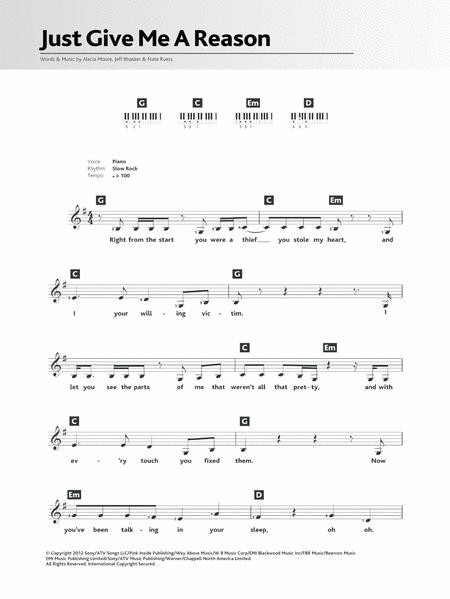Pink and Nate Ruess sheet music to download and print - World center ...