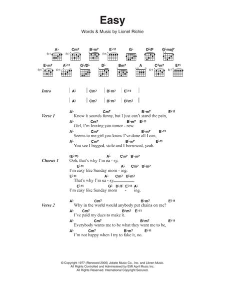 Download Digital Sheet Music For Lyrics And Chords