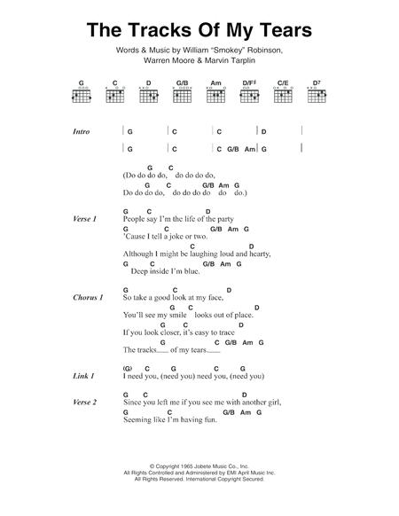 Smokey Robinson Sheet Music To Download And Print World Center Of