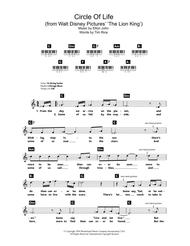 Download Digital Sheet Music Of The Circle For Piano Solo