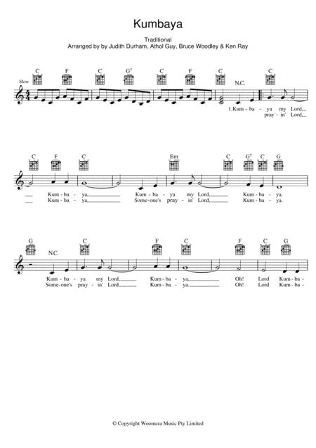 The Seekers sheet music to download and print - World center of ...