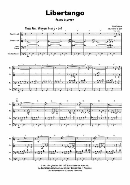 Astor Piazzolla sheet music to download and print - World