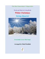"""""""White Christmas"""" for String Quartet sheet music"""