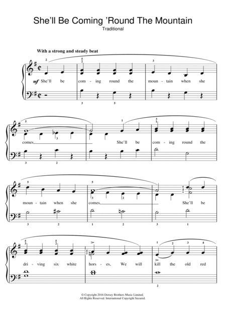 Traditional Nursery Rhyme Sheet Music