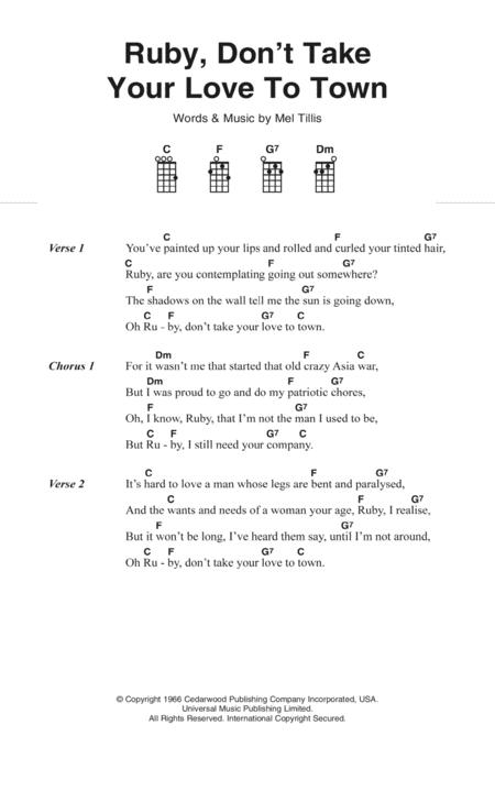 Kenny Rogers Sheet Music To Download And Print World Center Of