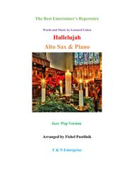 """Hallelujah"" for Alto Sax and Piano sheet music"
