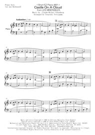 Alain Boublil  Sheet Music < Short EZ Piano #81 > Castle On A Cloud from LES MISERABLES Song Lyrics Guitar Tabs Piano Music Notes Songbook