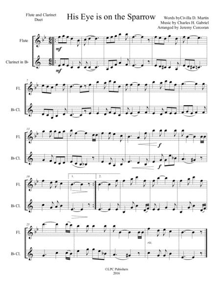 Download Digital Sheet Music for Flute, Clarinet (duet)