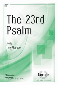 The 23rd Psalm sheet music