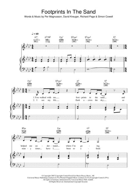 Leona Lewis Sheet Music To Download And Print World Center Of