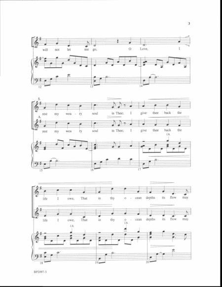O Love sheet music
