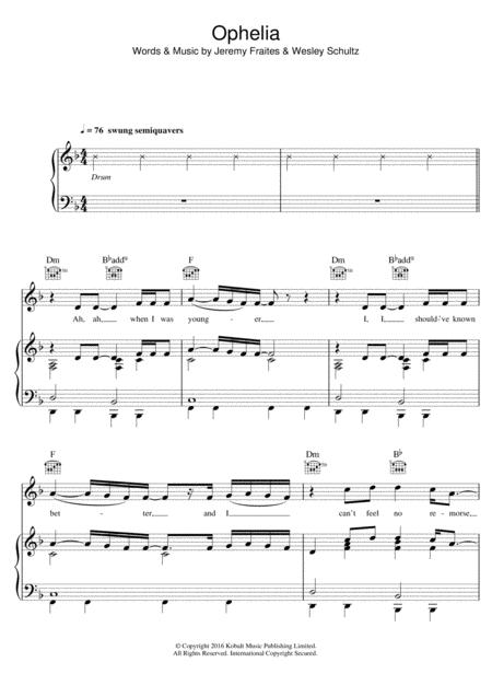 The Lumineers Sheet Music To Download And Print World Center Of
