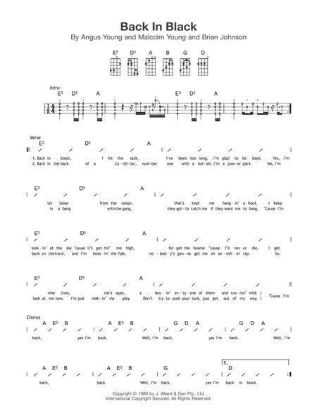 Partitions Tlcharger De Acdc Chez Sheetmusicplus Digital Print
