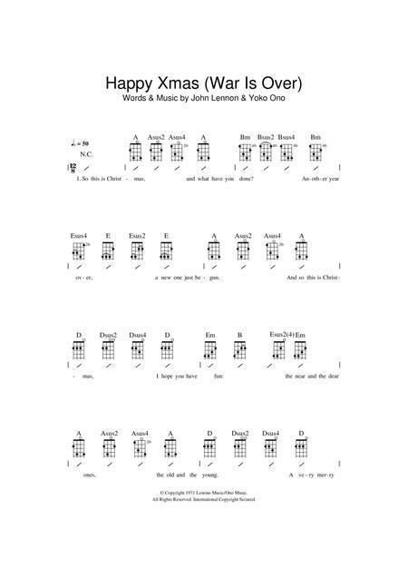 Download Digital Sheet Music Of John Lennon For Ukulele