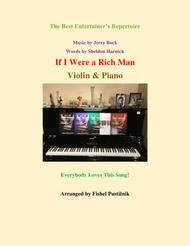 """""""If I Were A Rich Man"""" for Violin and Piano sheet music"""