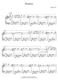 brian crain rain sheet music pdf