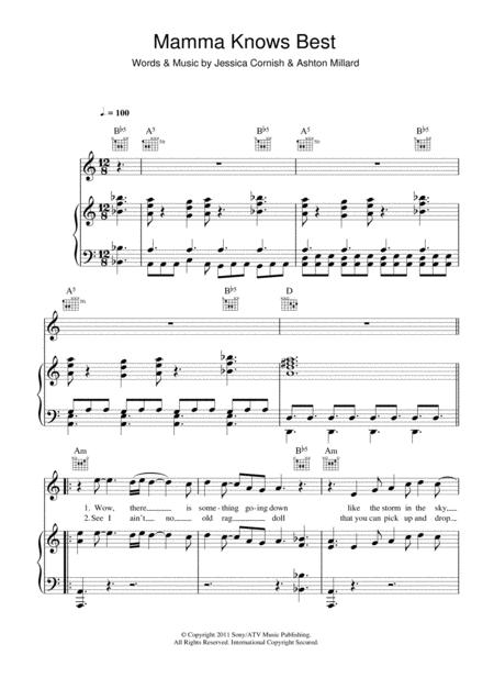 Download Digital Sheet Music Of Jessie J For Piano Vocal And Guitar
