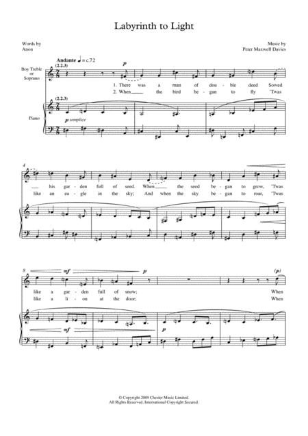 Peter-Maxwell-Davies sheet music to download and print - World
