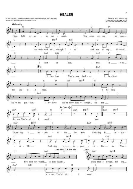 Kari Jobe Sheet Music To Download And Print World Center Of