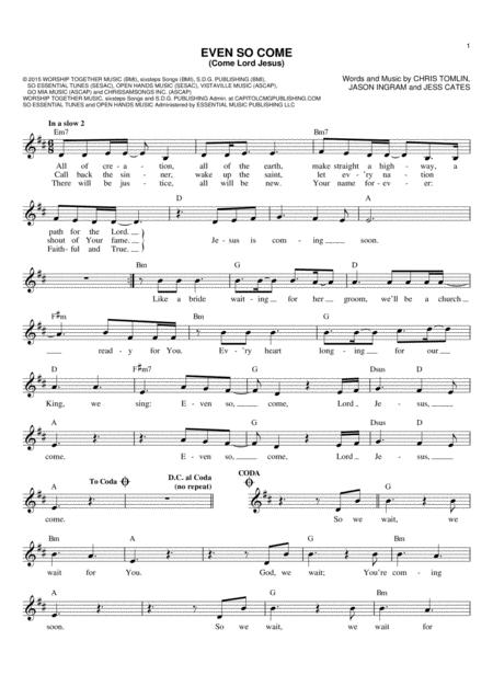 Kristian Stanfill Sheet Music To Download And Print World Center