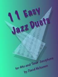 David McKeown  Sheet Music 11 Easy Jazz Duets for Alto and Tenor Saxophone Song Lyrics Guitar Tabs Piano Music Notes Songbook
