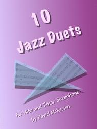 David McKeown  Sheet Music 10 Jazz Duets for Alto and Tenor Saxophone Song Lyrics Guitar Tabs Piano Music Notes Songbook