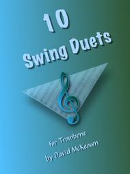 David McKeown  Sheet Music 10 Swing Duets for Trombone Song Lyrics Guitar Tabs Piano Music Notes Songbook
